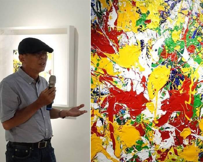 東方思維的純藝術 黃圻文體現的台灣生命能量