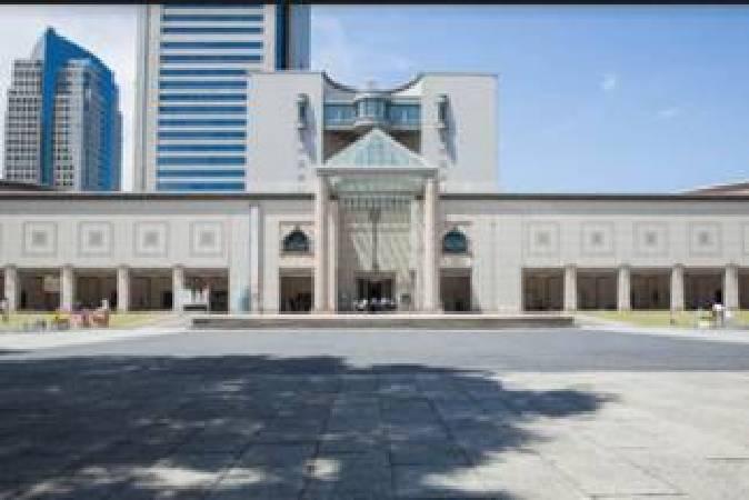 橫濱美術館自1989年開館以來,致力於近、現代藝術的收藏,是日本重要美術館之一。(照片提供:高雄市立美術館)