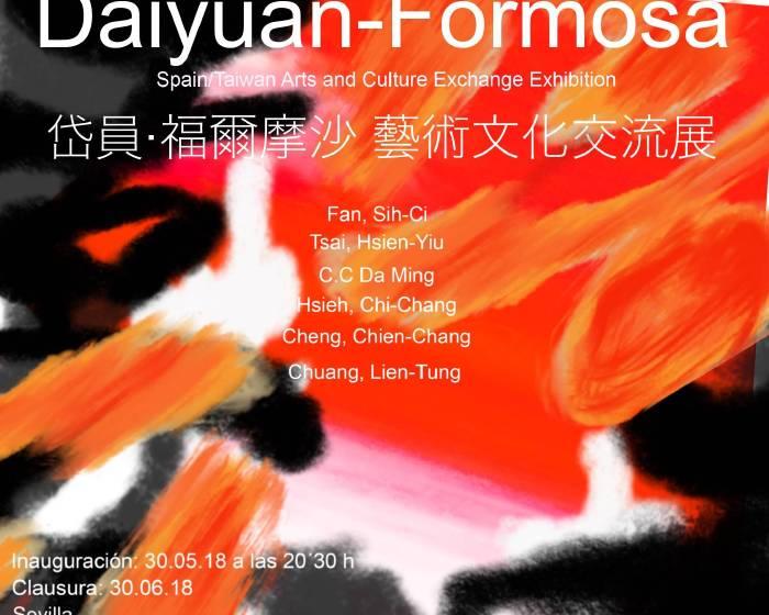 102當代藝術空間【岱員‧福爾摩沙 藝術文化交流展】Daiyuan-Formosa Arts and Culture Exchange Exhibition