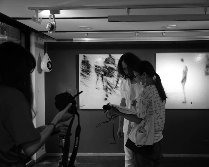 秋刀魚藝術中心 Fish Art Center【黃敏俊2018髮續行為藝術展-插秧後新聞稿】