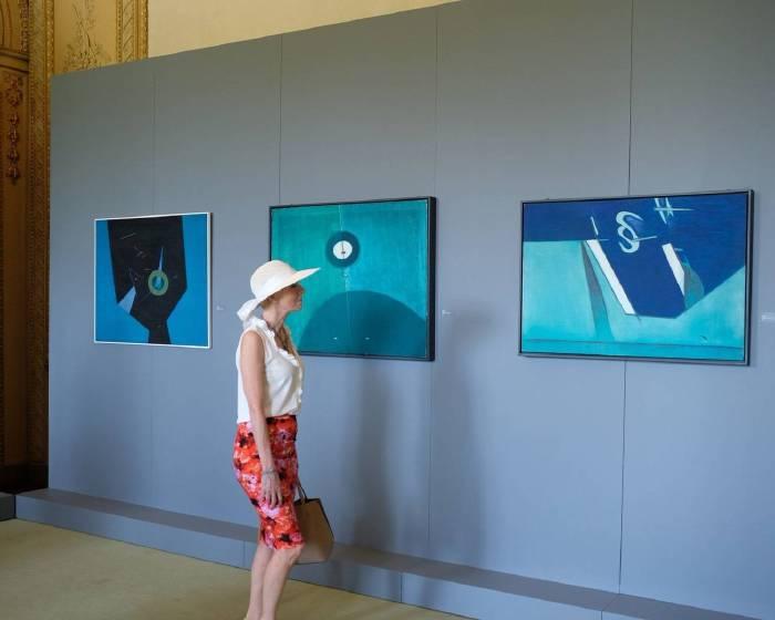 采泥藝術【形色之外 : 霍剛米蘭回顧展】Beyond colors and shapes :  A Retrospective of HO Kan