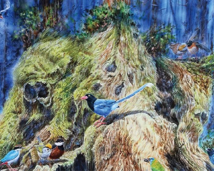 金車文教基金會【成定瑜-油畫創作展 】畫布上的台灣生態藝術
