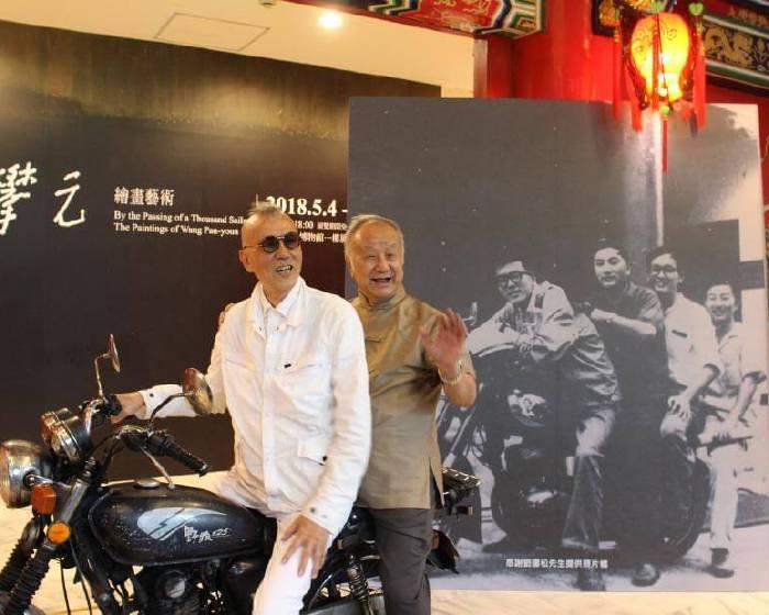 史博館整建前夕 劉國松、韓湘寧重現甲子前珍貴畫面