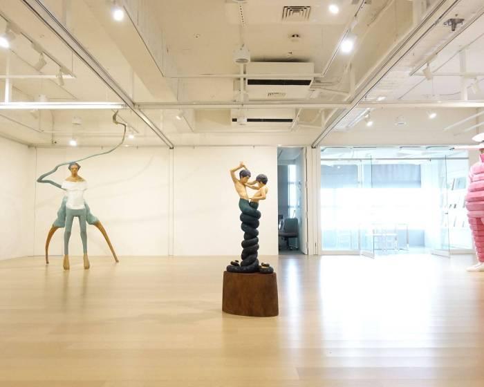 雲清藝術中心:【變態雕刻 ー 變形、擴張的身體 ー】
