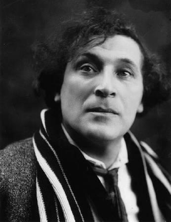 Marc Chagall。圖/取自wikipedia。