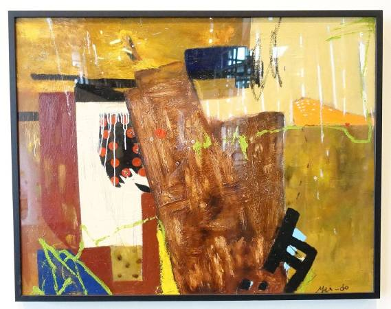 梅文琴作品《殘缺的記憶》。