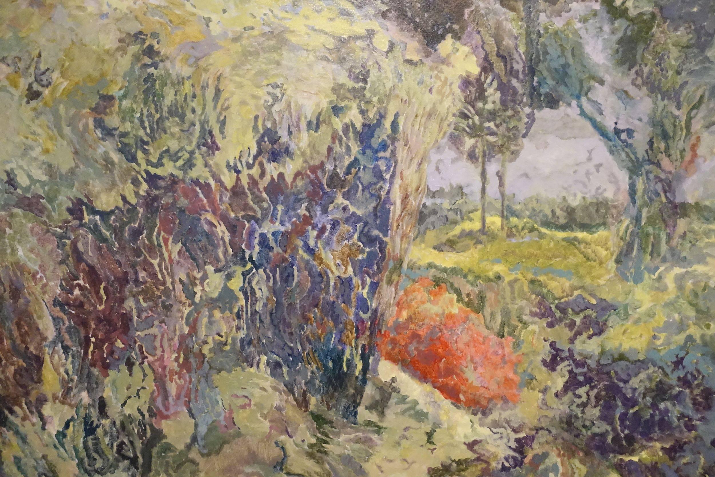 潘麒方作品《叢<二>》。