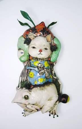 陳芍伊|生夏|陶瓷|55x33x18cm|2018