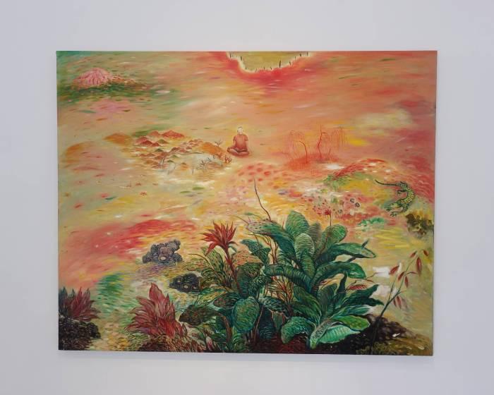 看到藝術:【hortus conclusus-秘 / 閉花園】