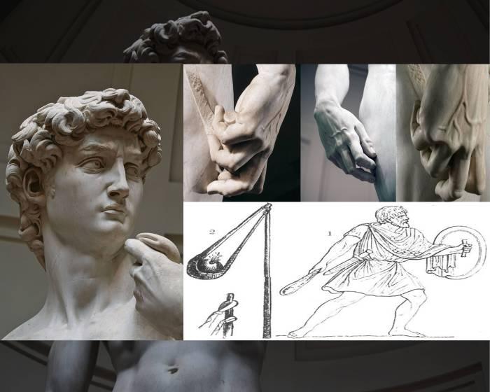 藝術解謎 米開朗基羅《大衛》用什麼武器擊倒巨人?