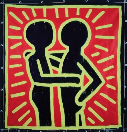 凱斯•哈林《Untitled》,1982 © Keith Haring Foundation。圖/The Albertina Museum提供。