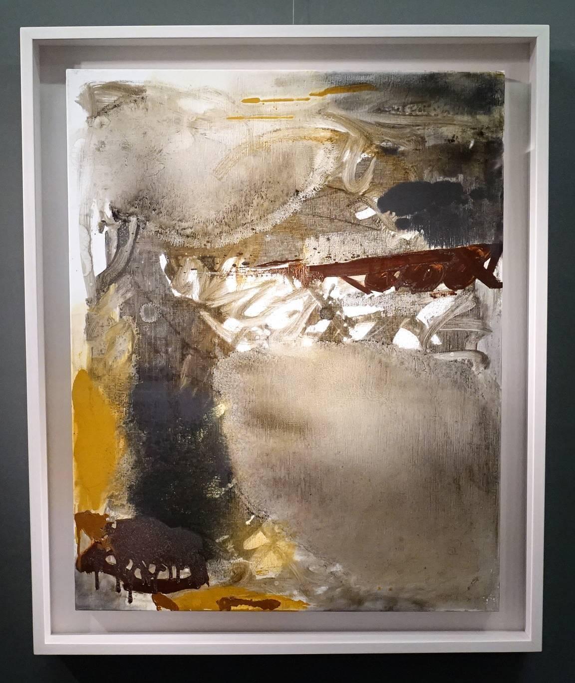 葉竹盛,改變32,油彩、畫布,2015年。