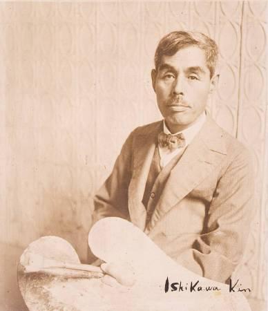 石川欽一郎。圖/取自wikimedia