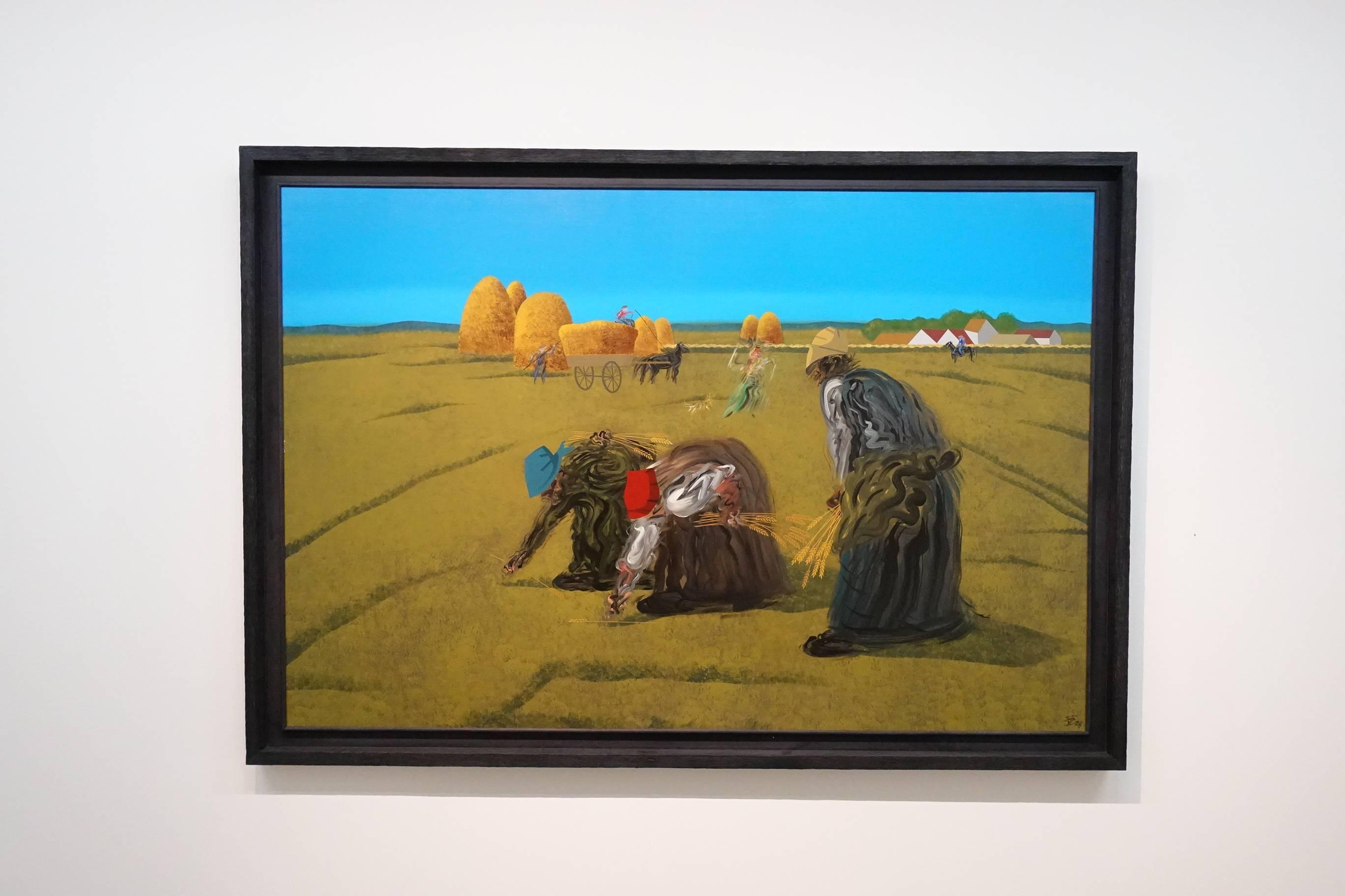 夏陽,拾穗,1998年。