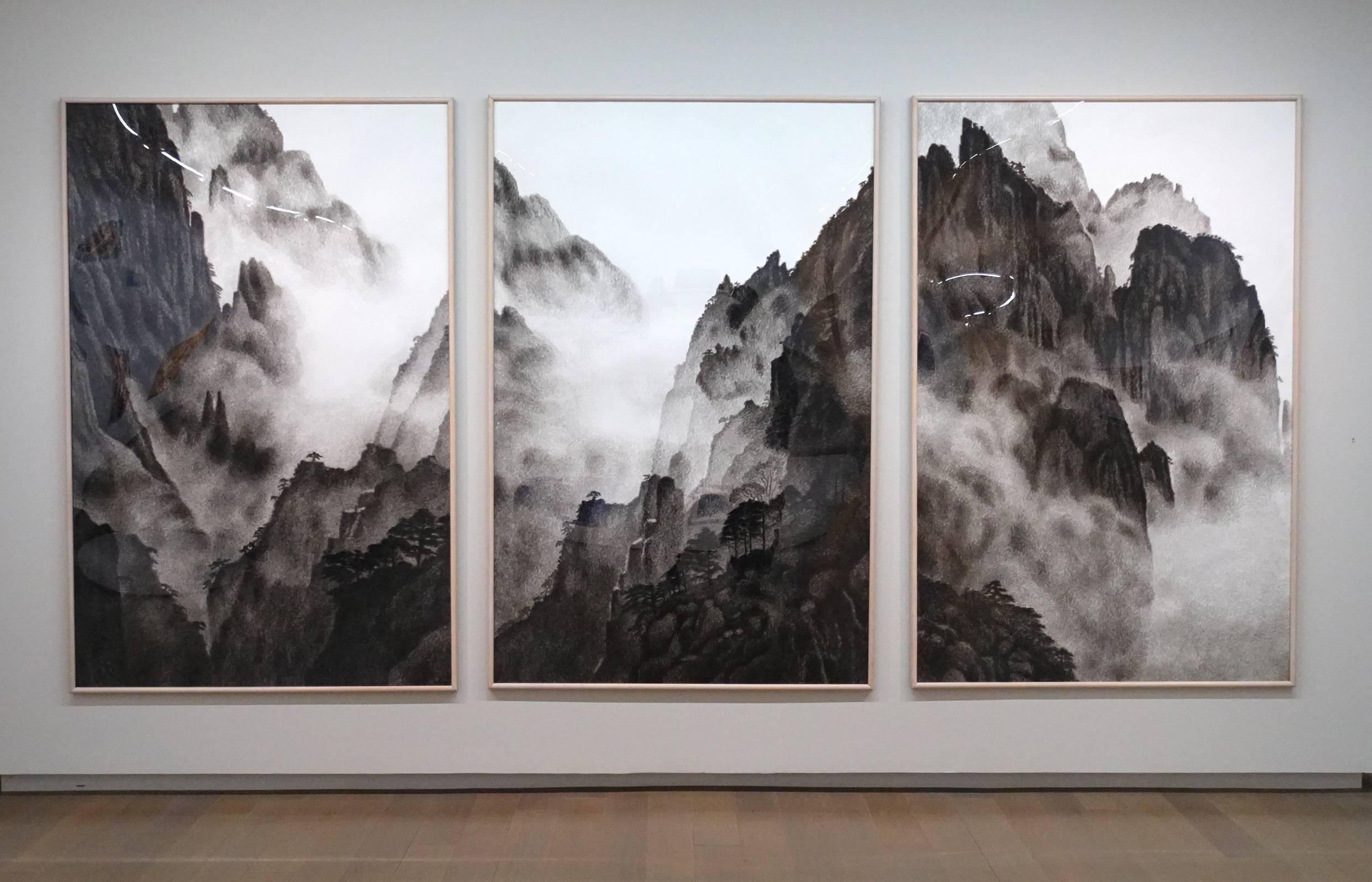 韓湘寧,黃山,1990年。