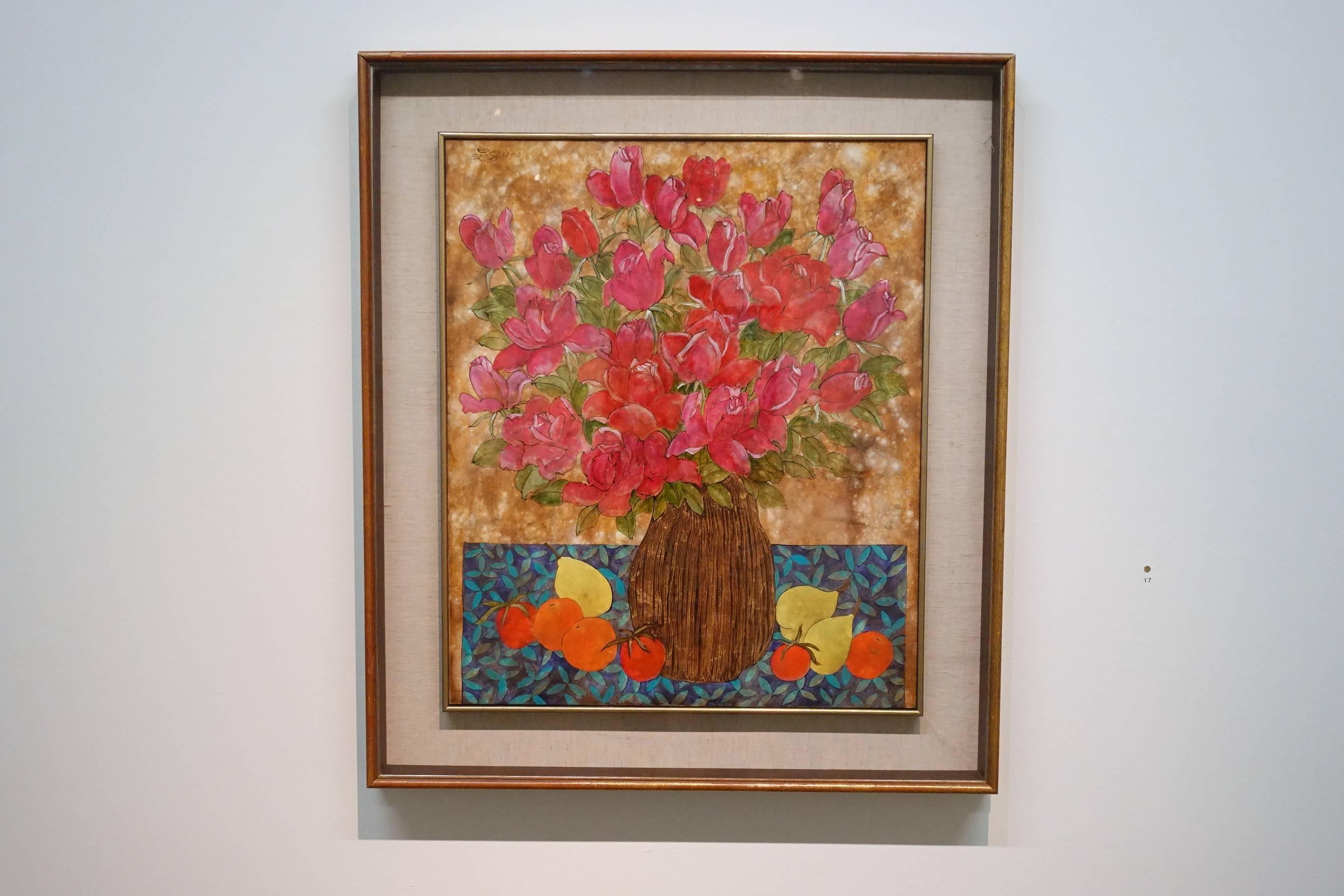 吳昊,玫瑰,1990年。