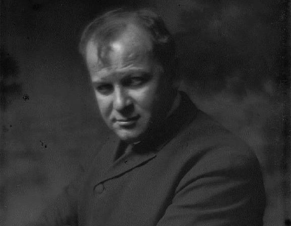 George Benjamin Luks。 圖/取自Wikipedia。