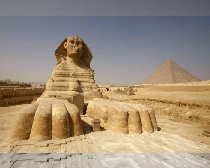 埃及國王谷 再次發現大型人面獅身像