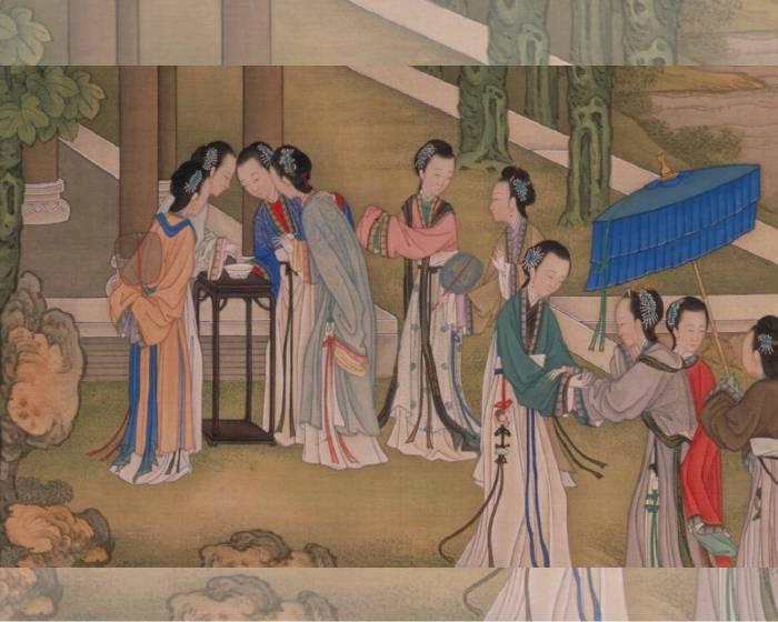 藝術解謎 中國古畫中的「七夕」意涵-究竟是永恆的愛?還是女性職人化競賽?