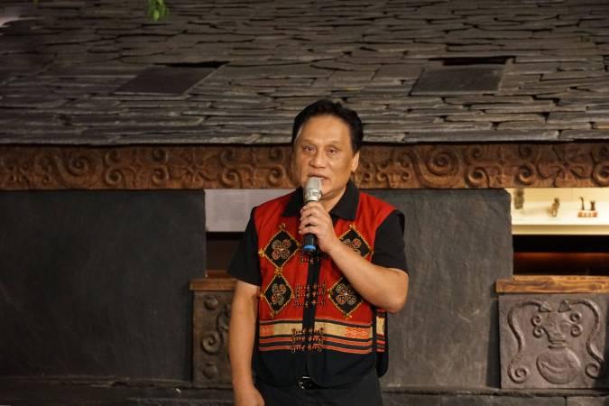 原住民族文化發展中心曾智勇主任致詞