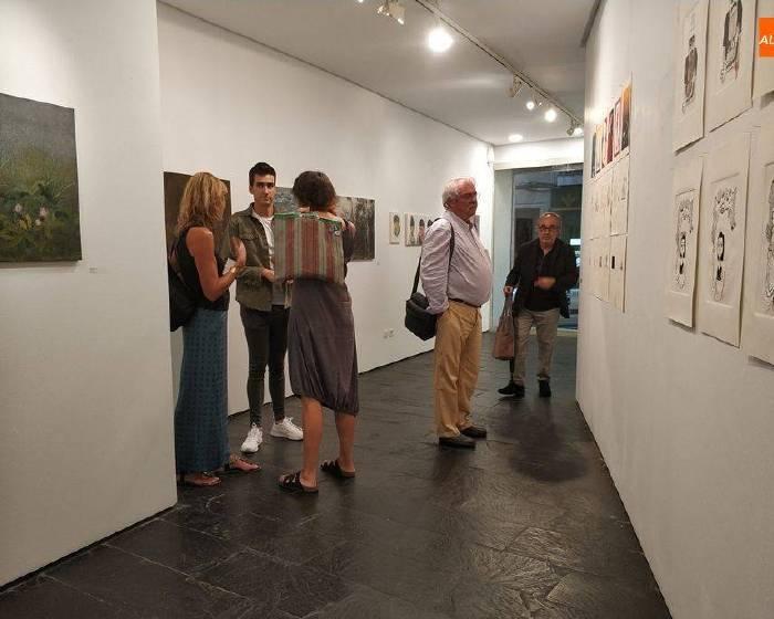 「2018薩拉曼卡國際繪畫交流展」於西班牙卡斯提亞與里昂省文化局展出