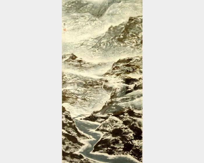 劉國松-西藏組曲八十九