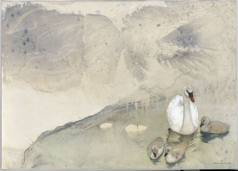 林順雄-擁一池天倫