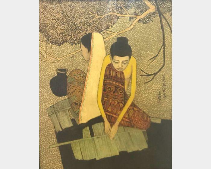 鍾泗濱-馬來女子