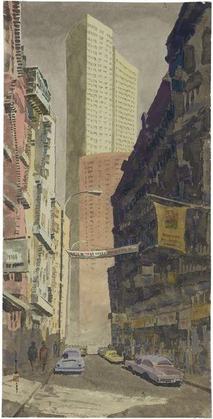 馬白水-紐約唐人街
