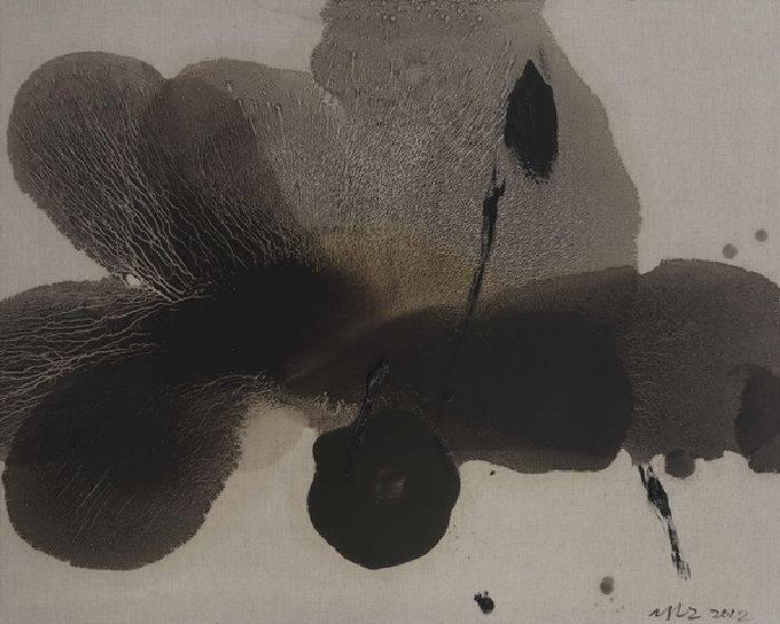 毛栗子-殘荷 2012
