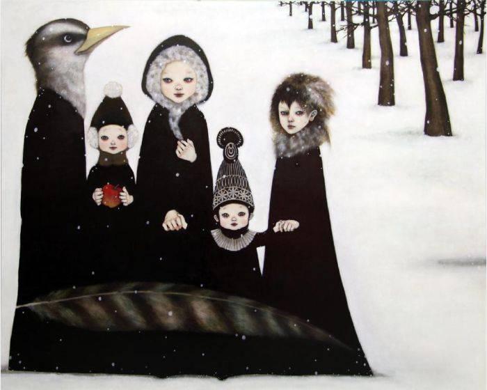 飯田桐子-白族油彩