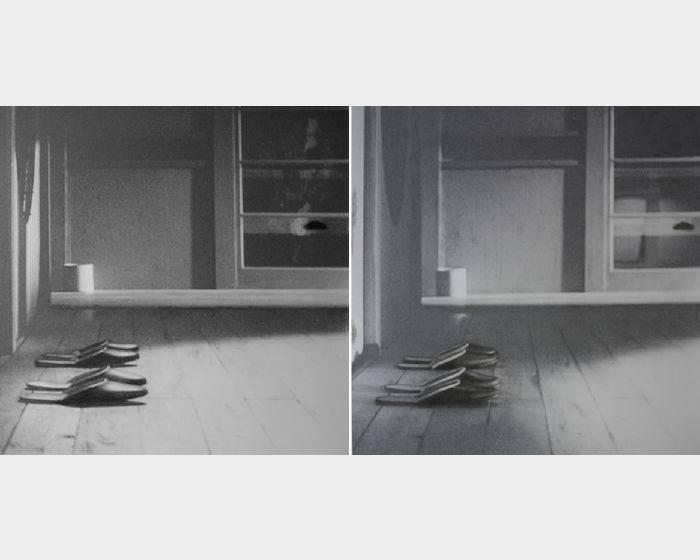 馬瓊珠-小津安二郎︱東京故事︱拖鞋