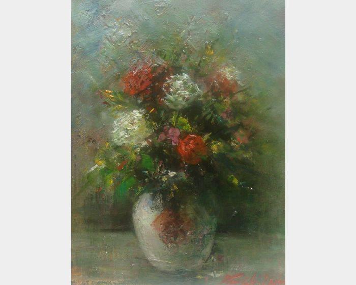 韋啟義-花瓶