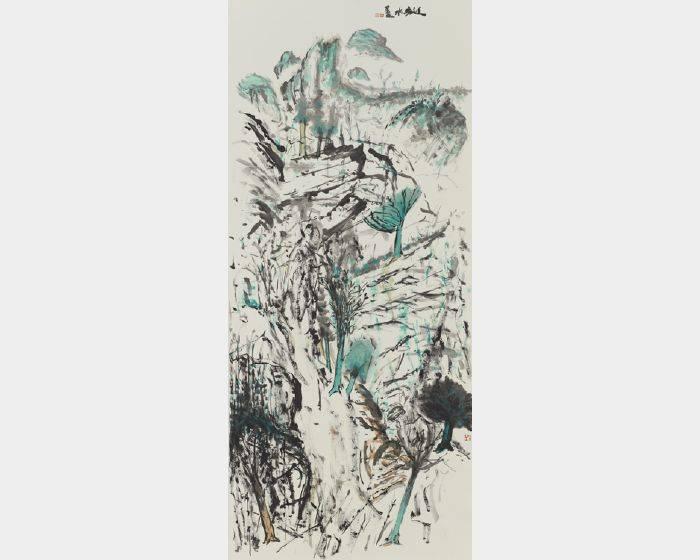 劉進安-米脂山水
