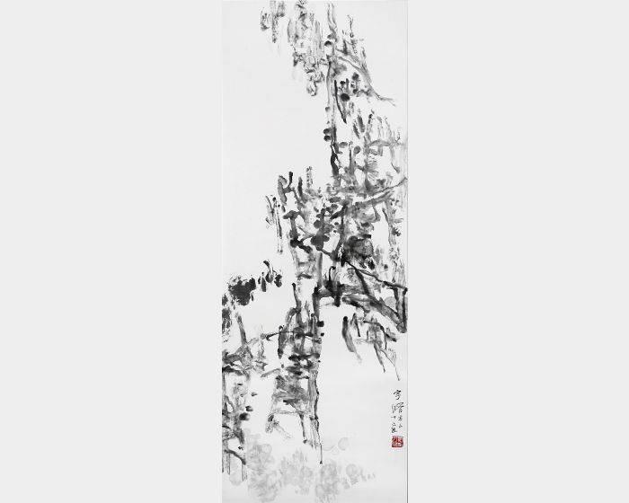 趙宇脩-寒林高枝