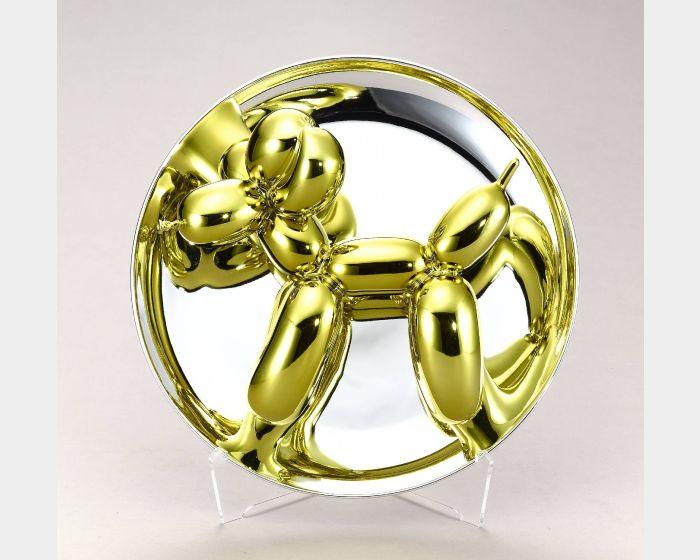 傑夫坤斯-Balloon Dog (Yellow) 氣球狗 (金黃)