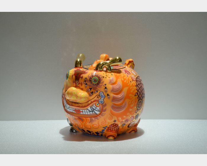 洪易-九龍茶罐 吉極龍 (平裝)