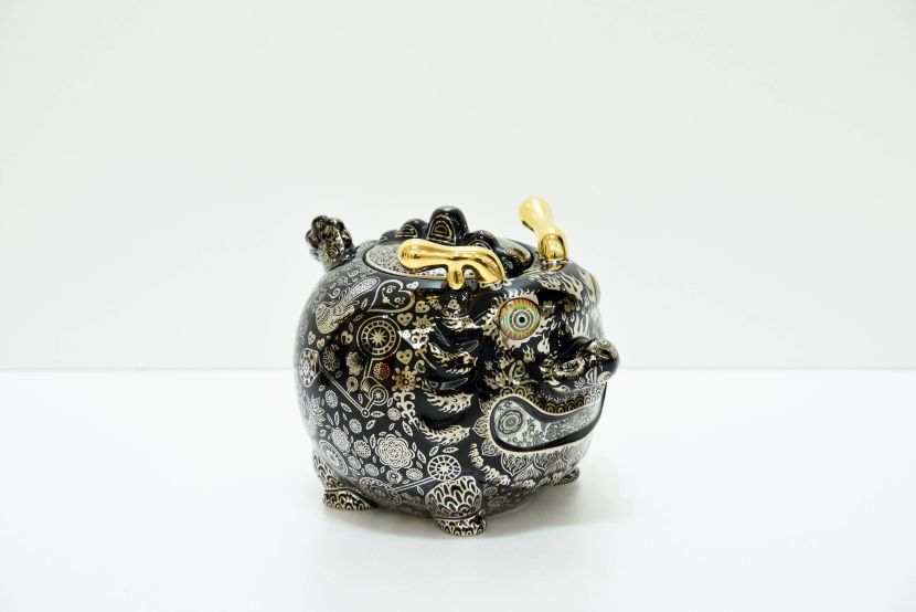 洪易-九龍茶罐 動力龍 (平裝)