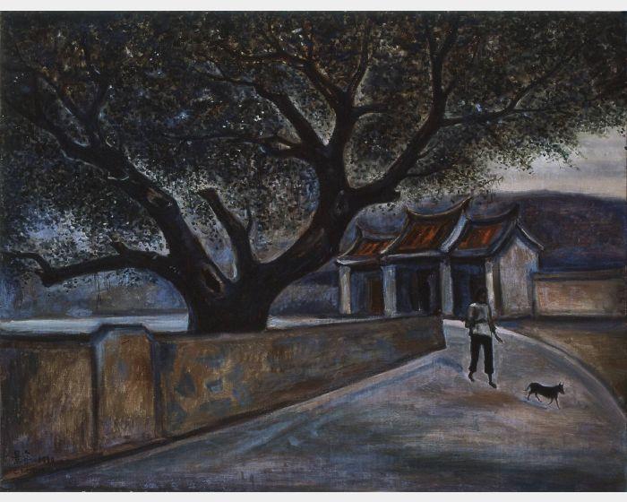陳景容 -榕樹下