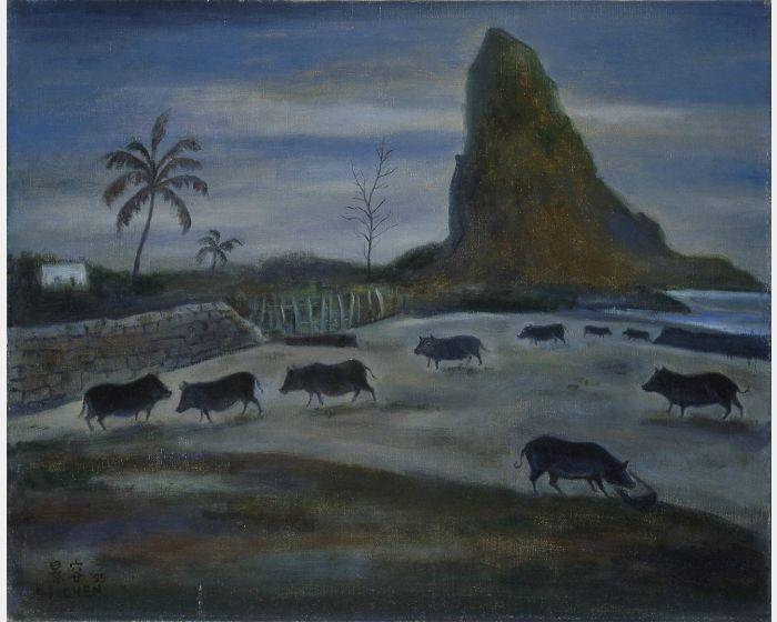 陳景容 -蘭嶼