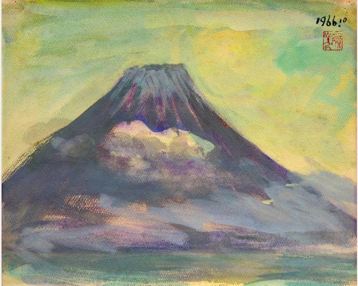 洪瑞麟-富士山