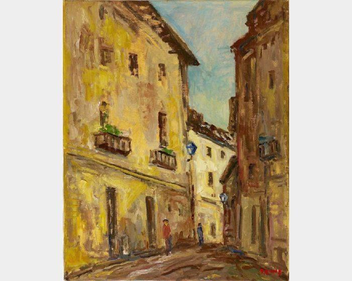 楊三郎-西班牙小巷