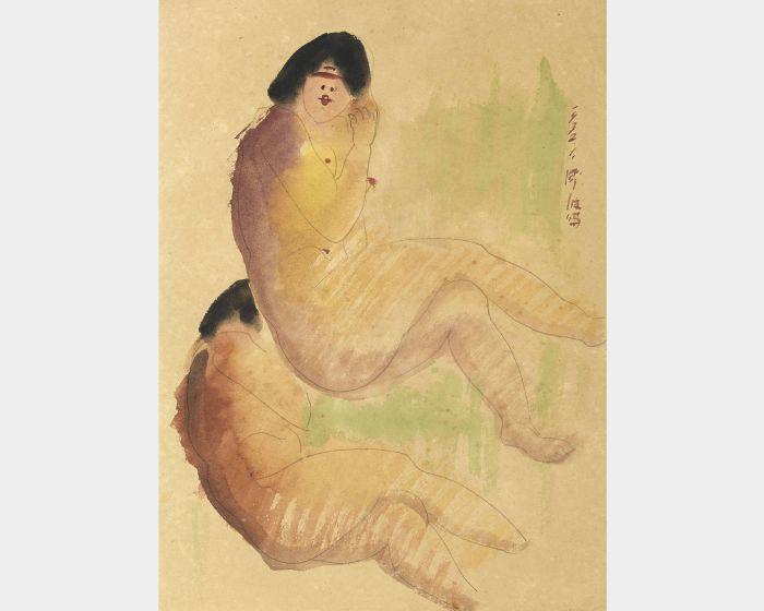 陳澄波-坐姿裸女-32.1(40)