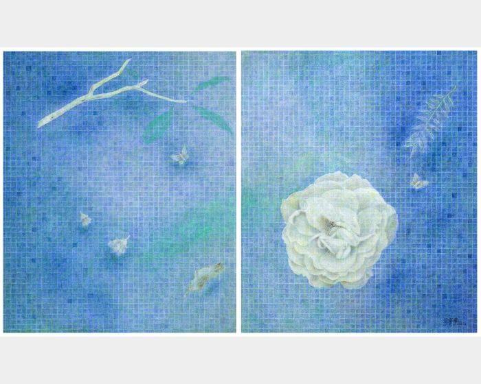 金芬華-藍