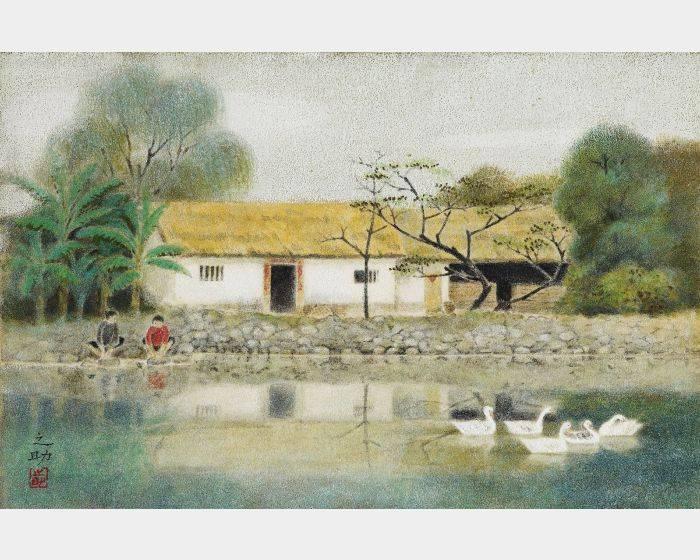 林之助-台灣農家