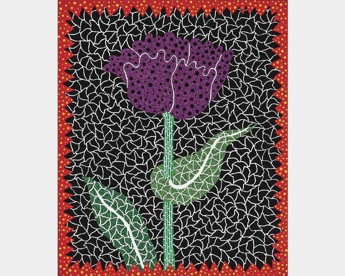 草間彌生-NO.290 鬱金香 (I) Tulip (I)