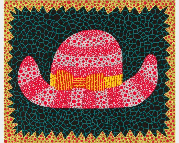 草間彌生-NO.284 帽子 Hat (I)
