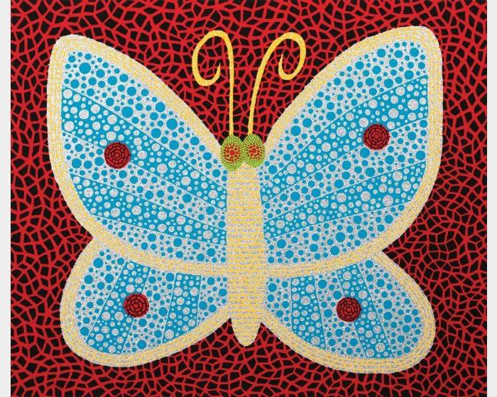 草間彌生-NO.289 蝴蝶 Butterfly (II)