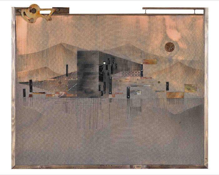 陳硯平-黑牆 A Black Wall