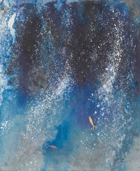 江心靜-水鋼琴二重奏2 Deep Blue 2